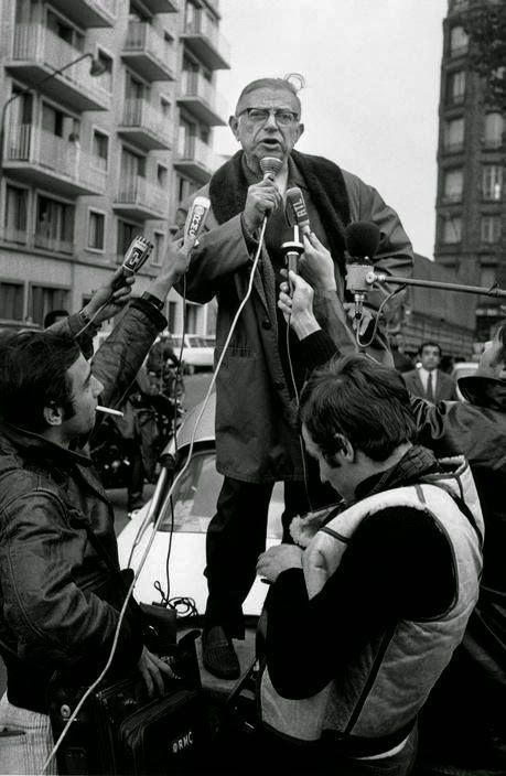 Sartre en 1968 ou 1970