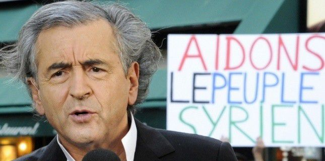 """Après la Lybie, BHL veut """"libérer"""" la Syrie"""