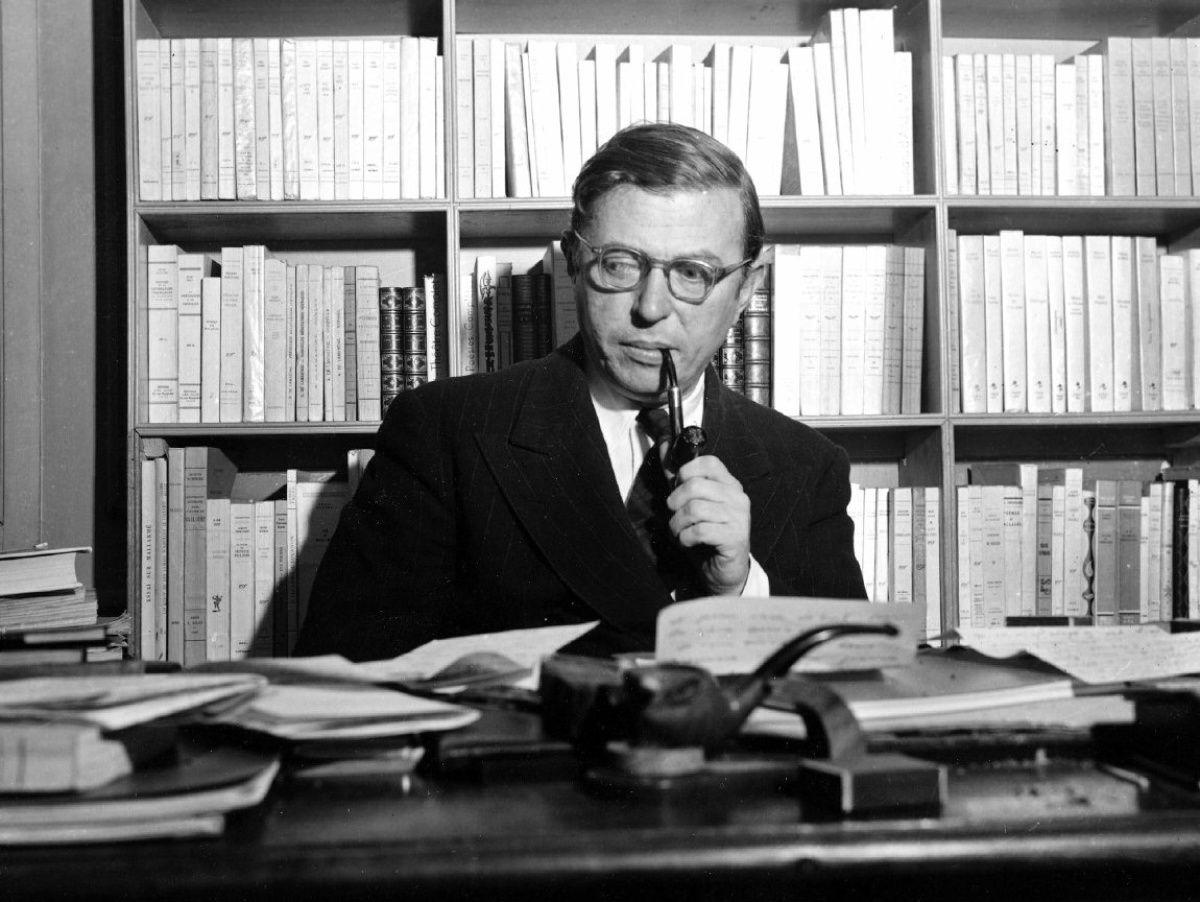 Sartre chez lui