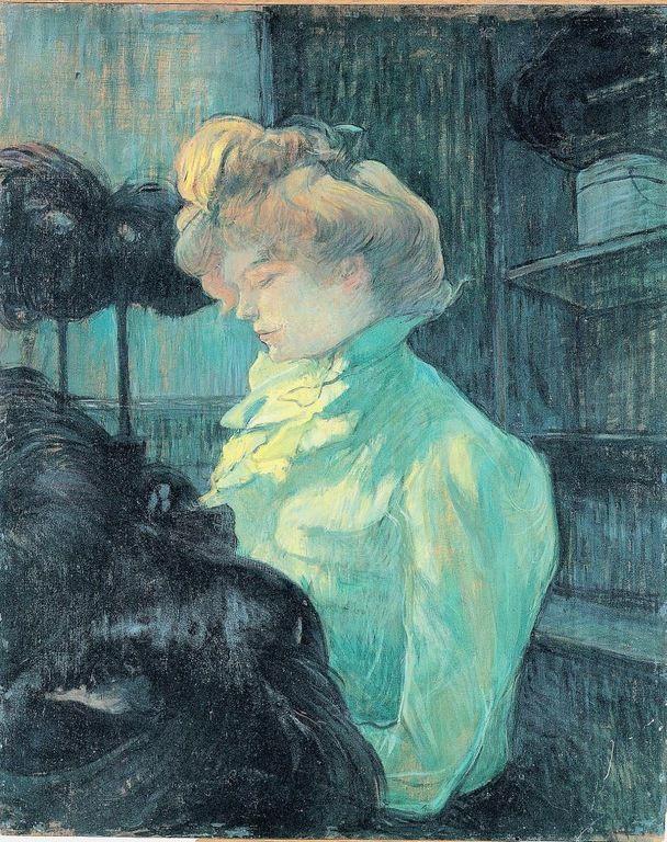 Toulouse-Lautrec - La modiste 1900