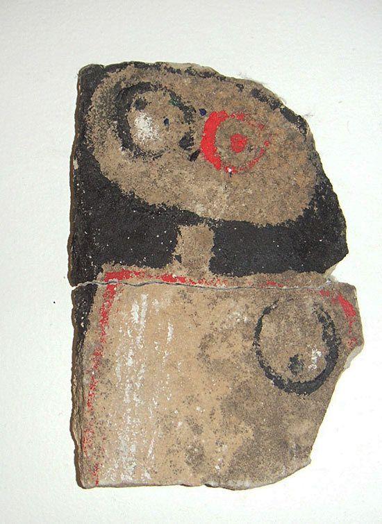 Peinture sur pierre, sd