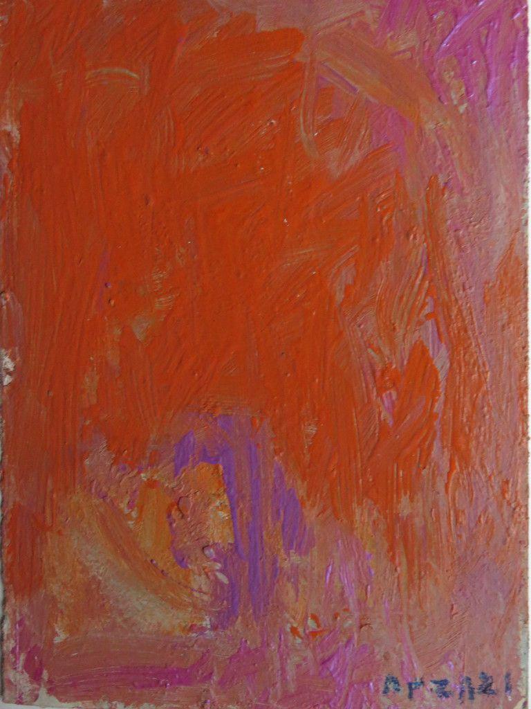 Paysage à Chatenay Malabry - T M 32x21cm 2014