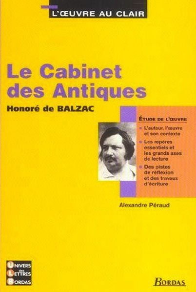 Balzac - Le cabinet des antiques (Illustrations)