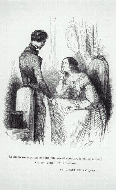 Balzac - Le cabinet des antiques (Illustrations)