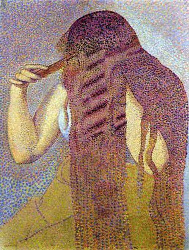 Henri-Edmond Cross - La Toison, 1892