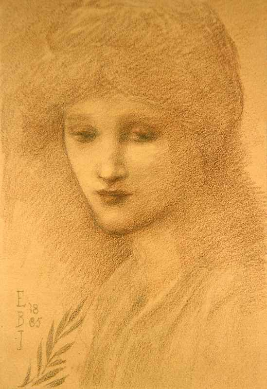 Edward Burne-Jones - Portrait de Laura Littleton, 1885