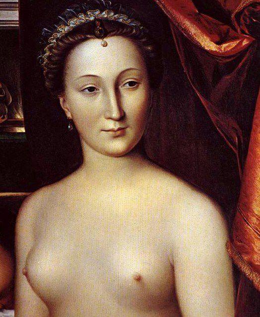 François Clouet - Dame au bain 1570