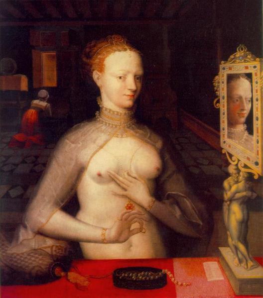 Ecole de Fontainebleau - Diane de Poitiers 1590