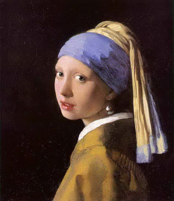 Vermeer de Delft - La jeune fille au turban, vers 1665