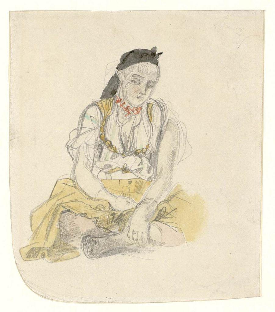 Femme d'Alger, 1832