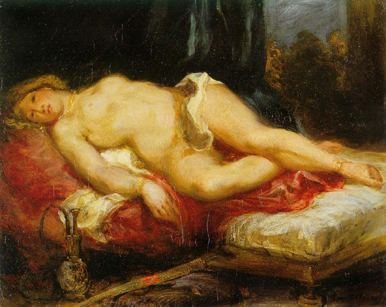 Odalisque allongée, 1825