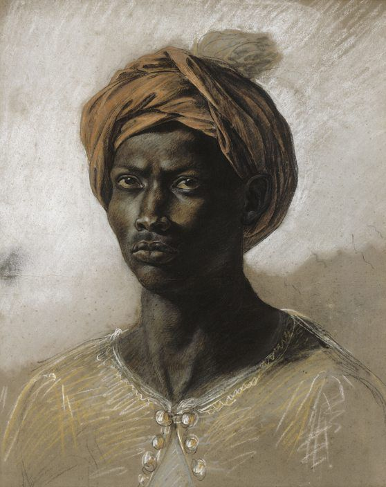 Nègre au turban, 1830