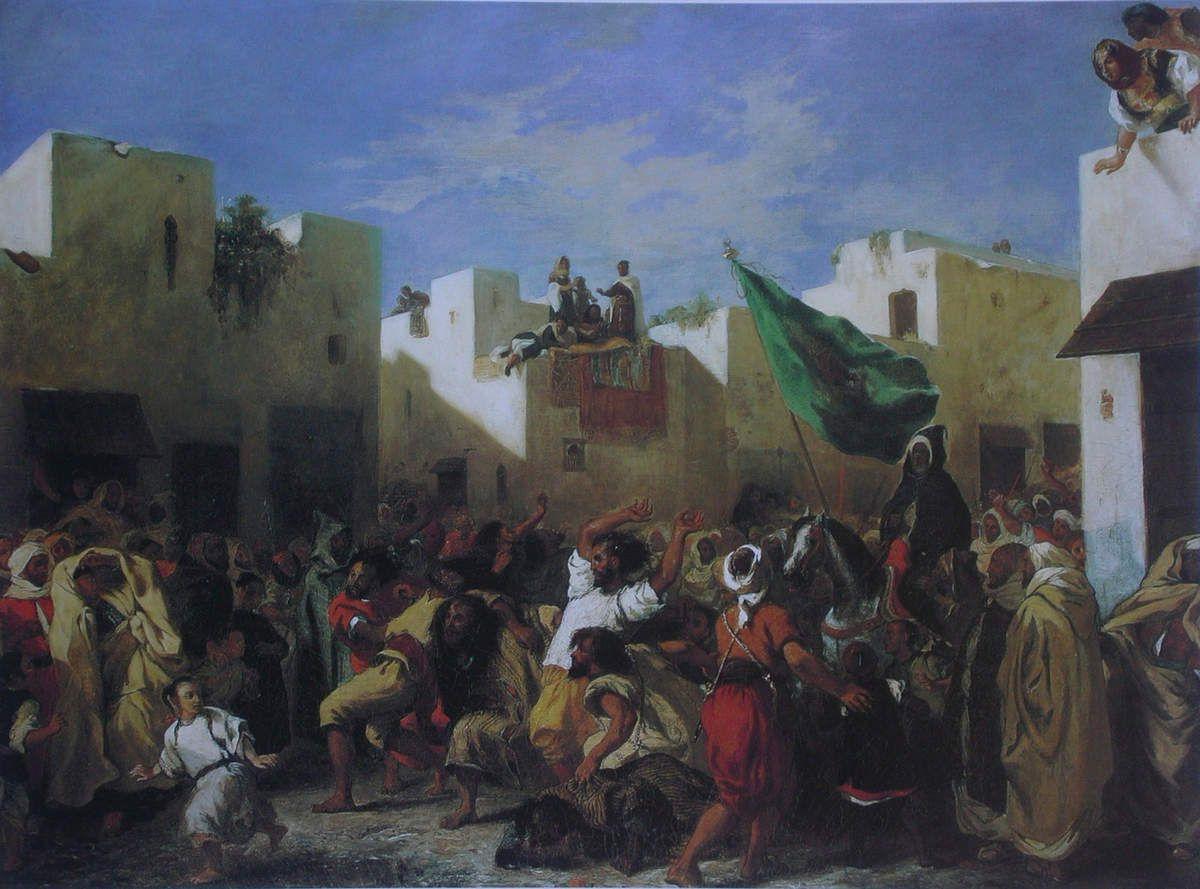 Les Convulsionnaires ((ou les Fanatiques)  de Tanger, 1838