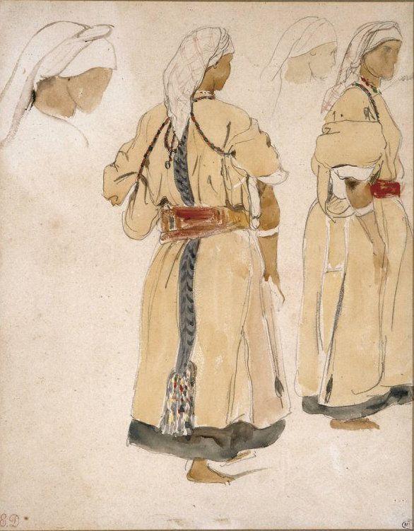 Juives du Maroc, 1832