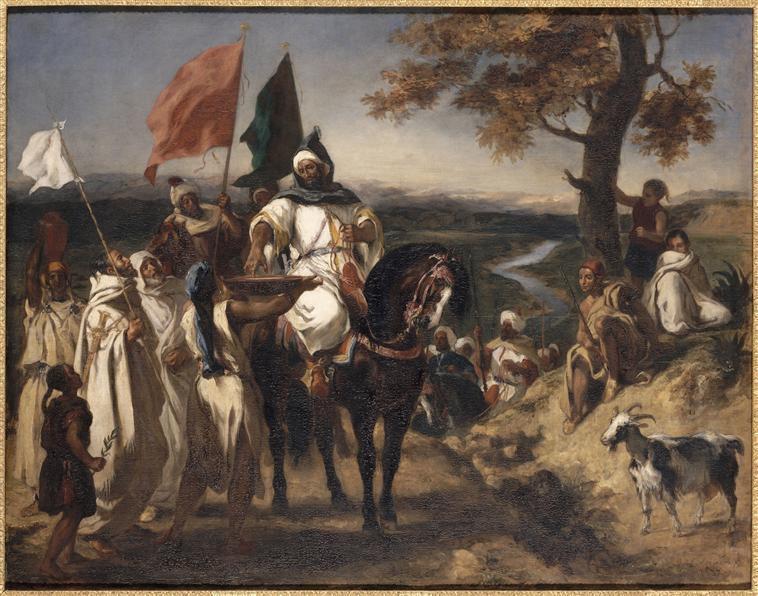 Eugène Delacroix - Le CaÏd marocain, 1837