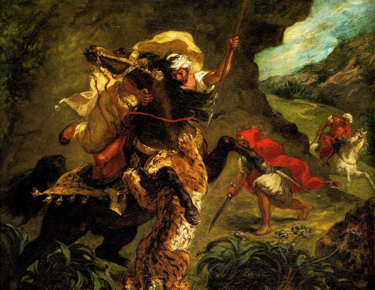 Chasse au tigre, 1854