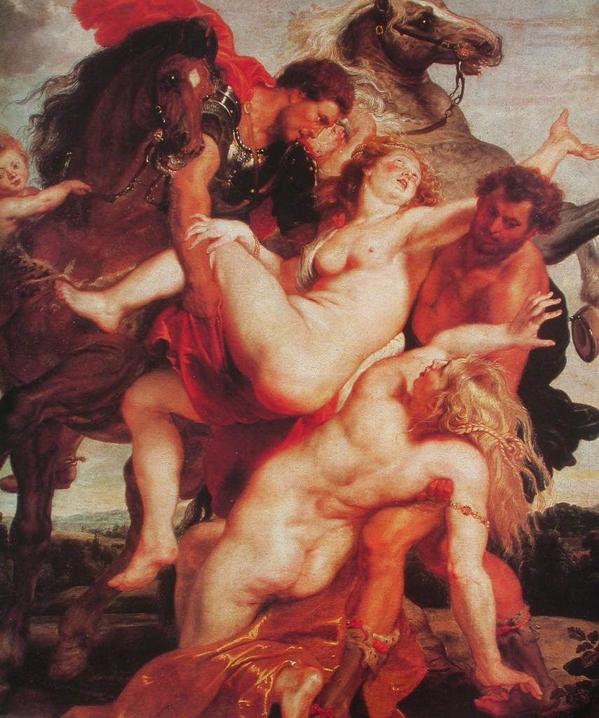 L'Enlèvement des filles de Leucippe, vers 1618