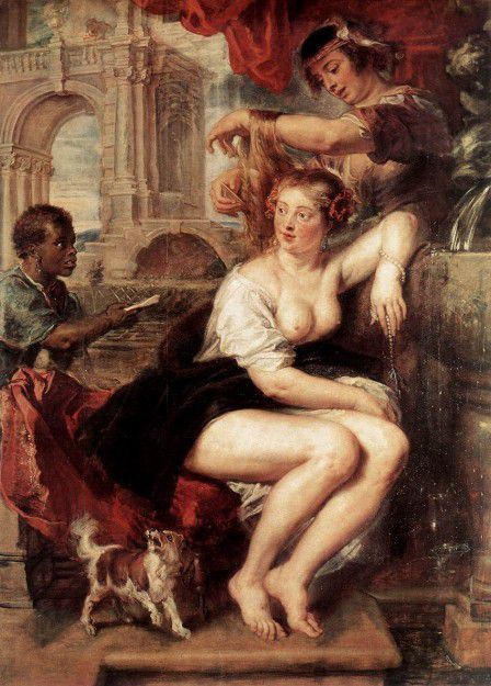 Rubens - Bethsabée se baignant vers 1635