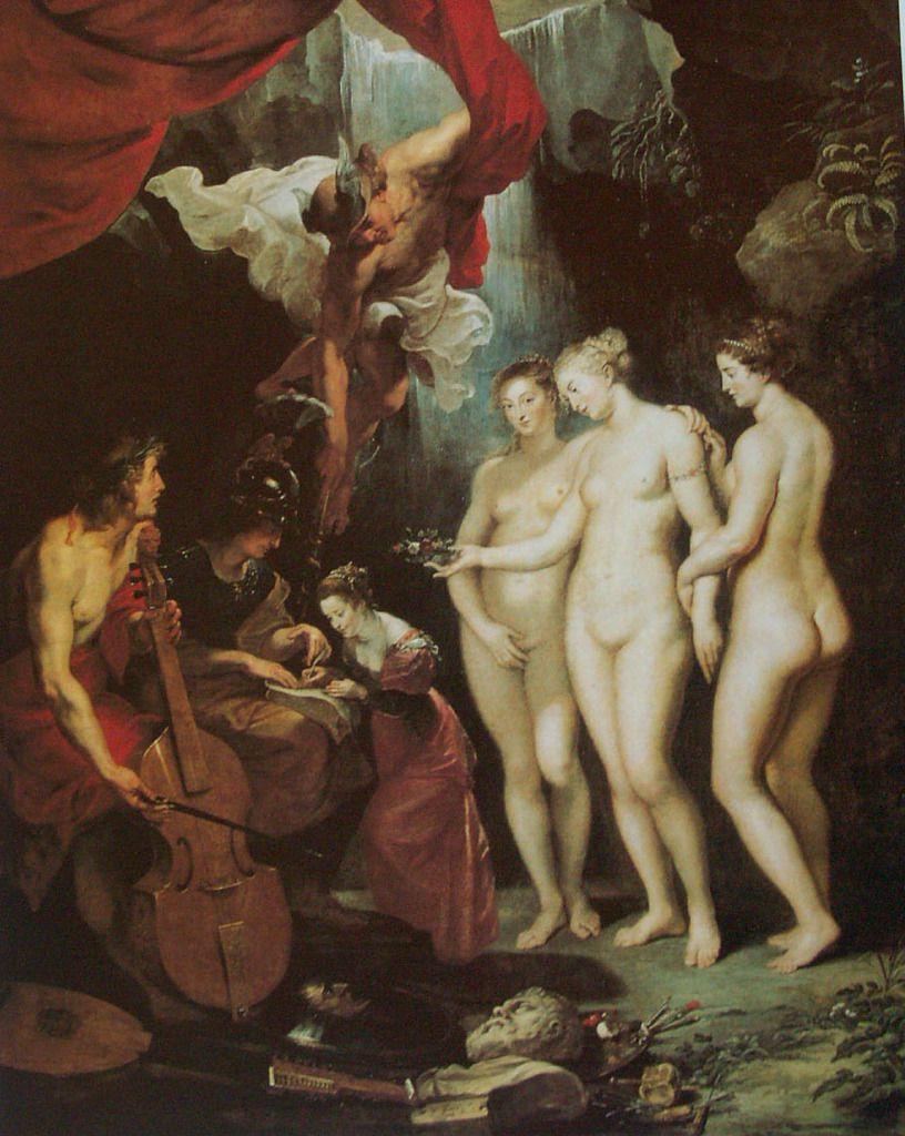 Rubens - L'Education de Marie de Médicis, 1622