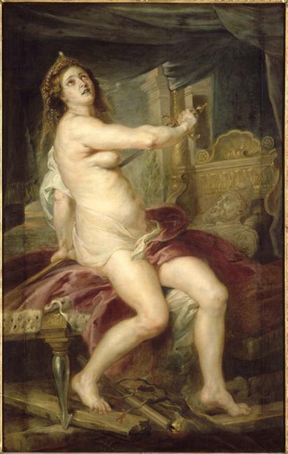 La mort de Didon, 1635-38