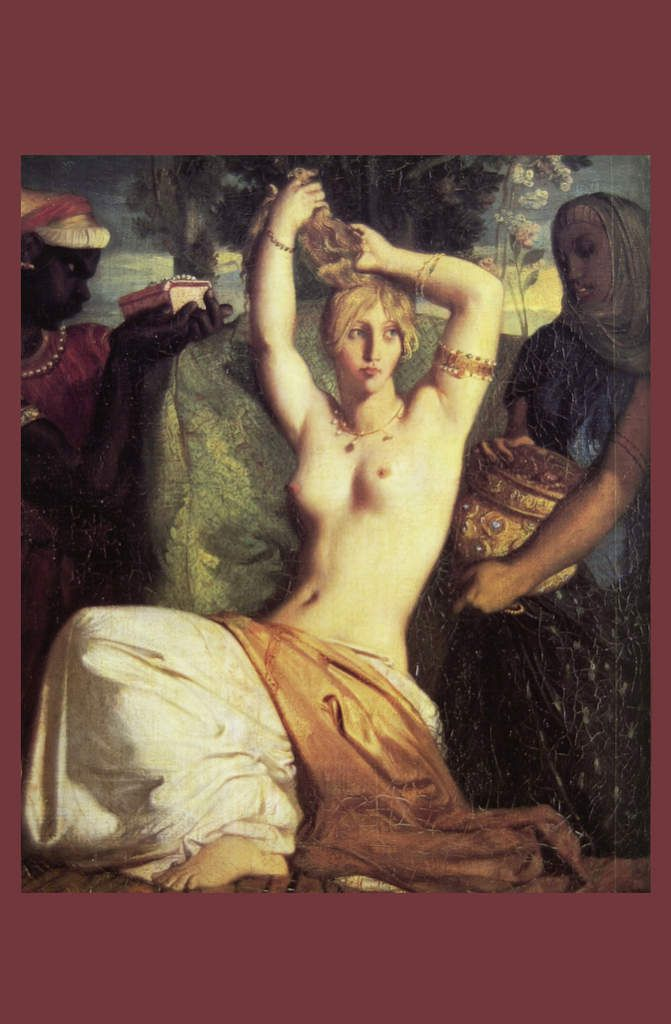 La toilette d'Esther, 1841