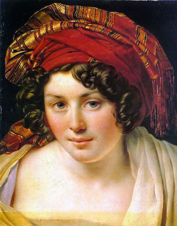 Girodet - Femme dans un turban 1795