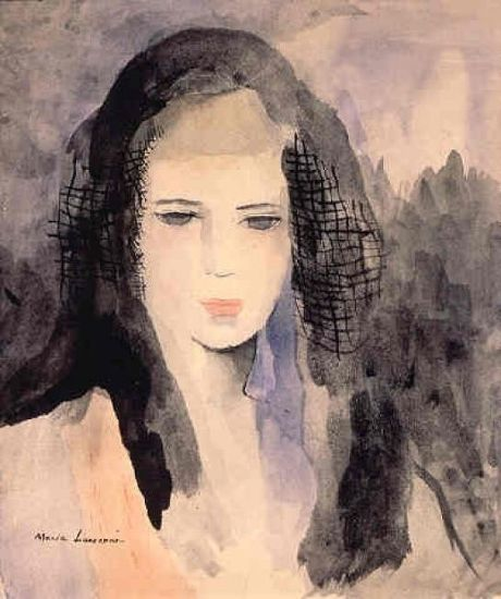 Marie Laurencin - Femme à la mantille 1938