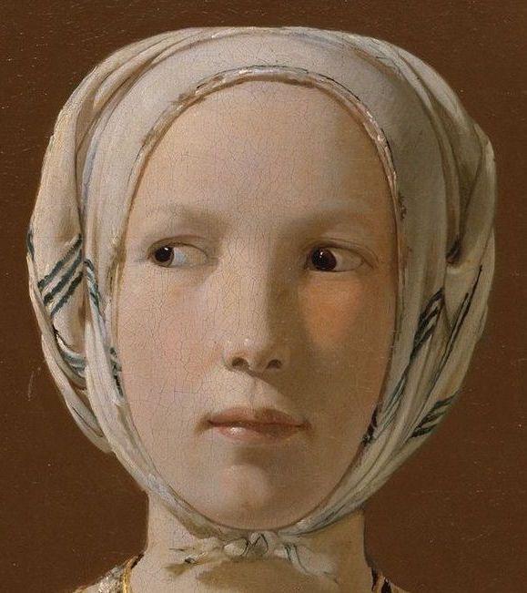 Georges Delatour - La diseuse de bonne aventure (détail) 1630