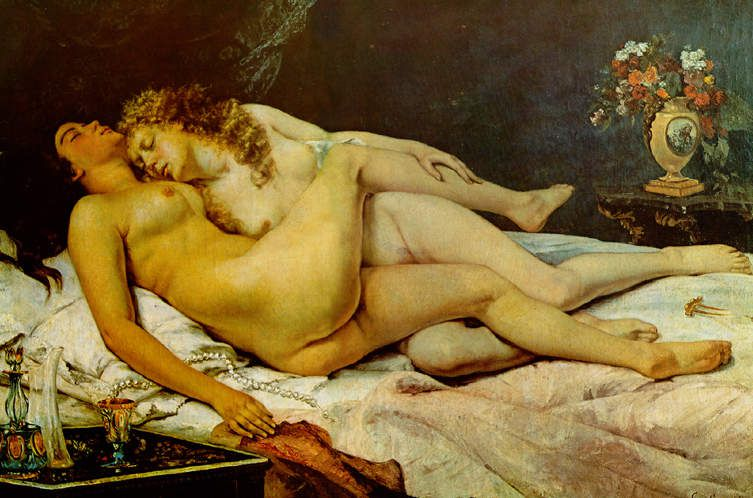 Courbet - Paresse et luxure 1866