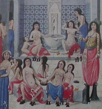 Anonyme XIXème siècle - Bain turc