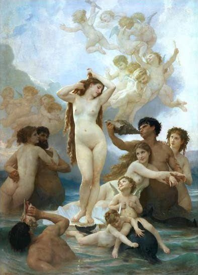 William Bouguereau – Naissance de Vénus  1879