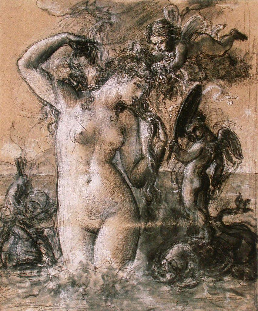 Girodet - Vénus sortant de l'eau 1802
