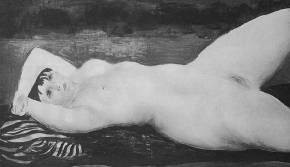 Moïse Kisling - Kiki de Montparnasse 1927