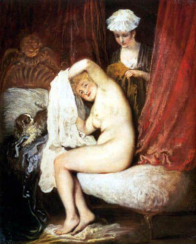 Watteau - La toilette 1717-1718