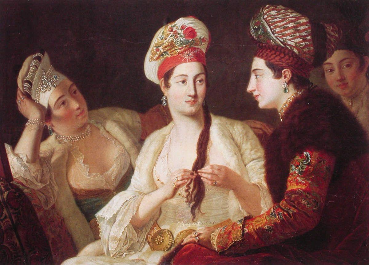 Antoine de Favray - Femmes turques vers 1764
