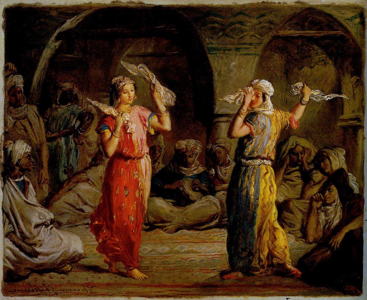 Théodore Chassériau - Danseuses mauresques, 1849