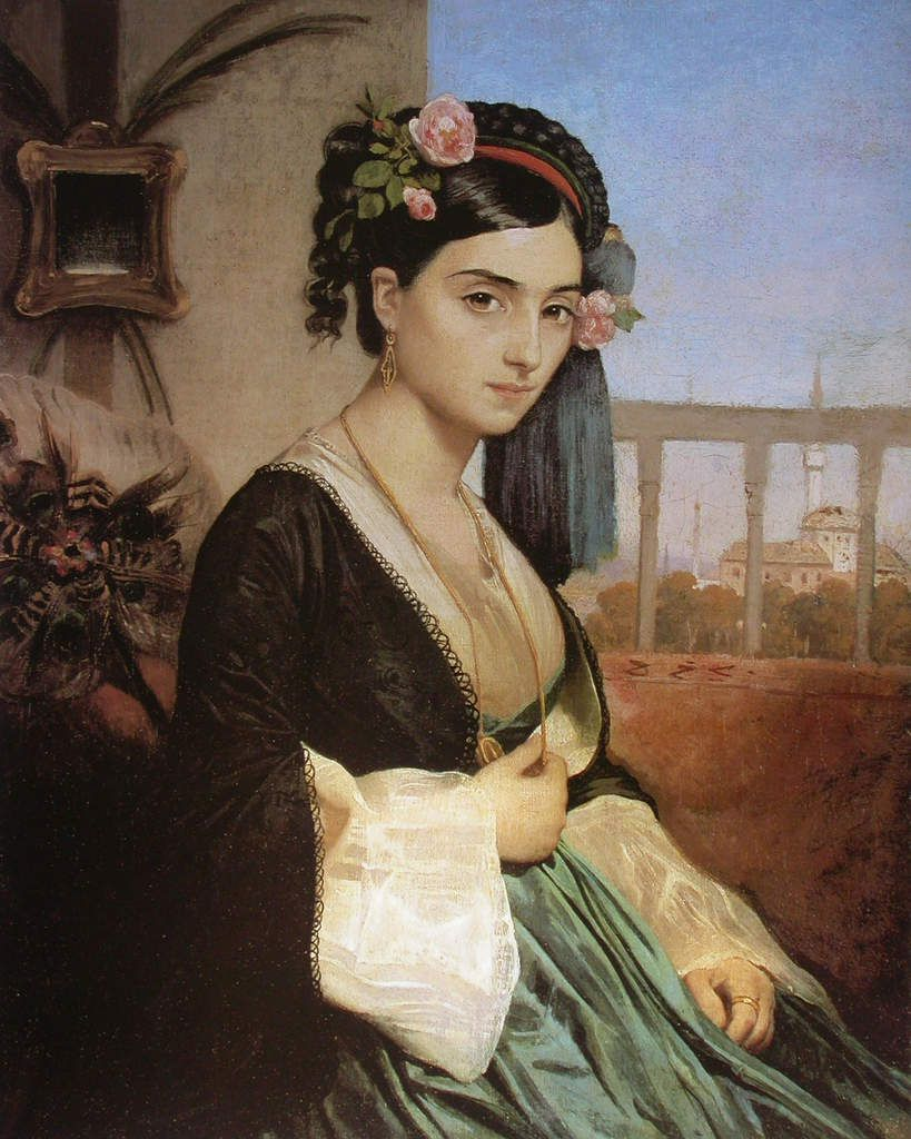 Charles Gleyre - Femme d'Orient, 1840