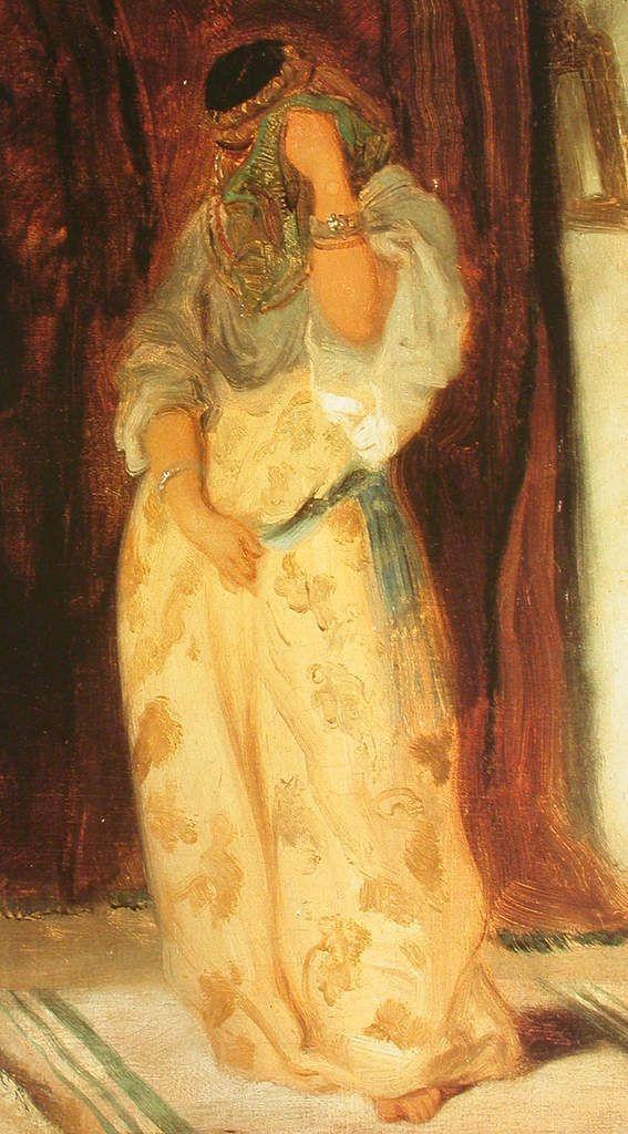 Louis Boulanger - Femme mauresque, 1849