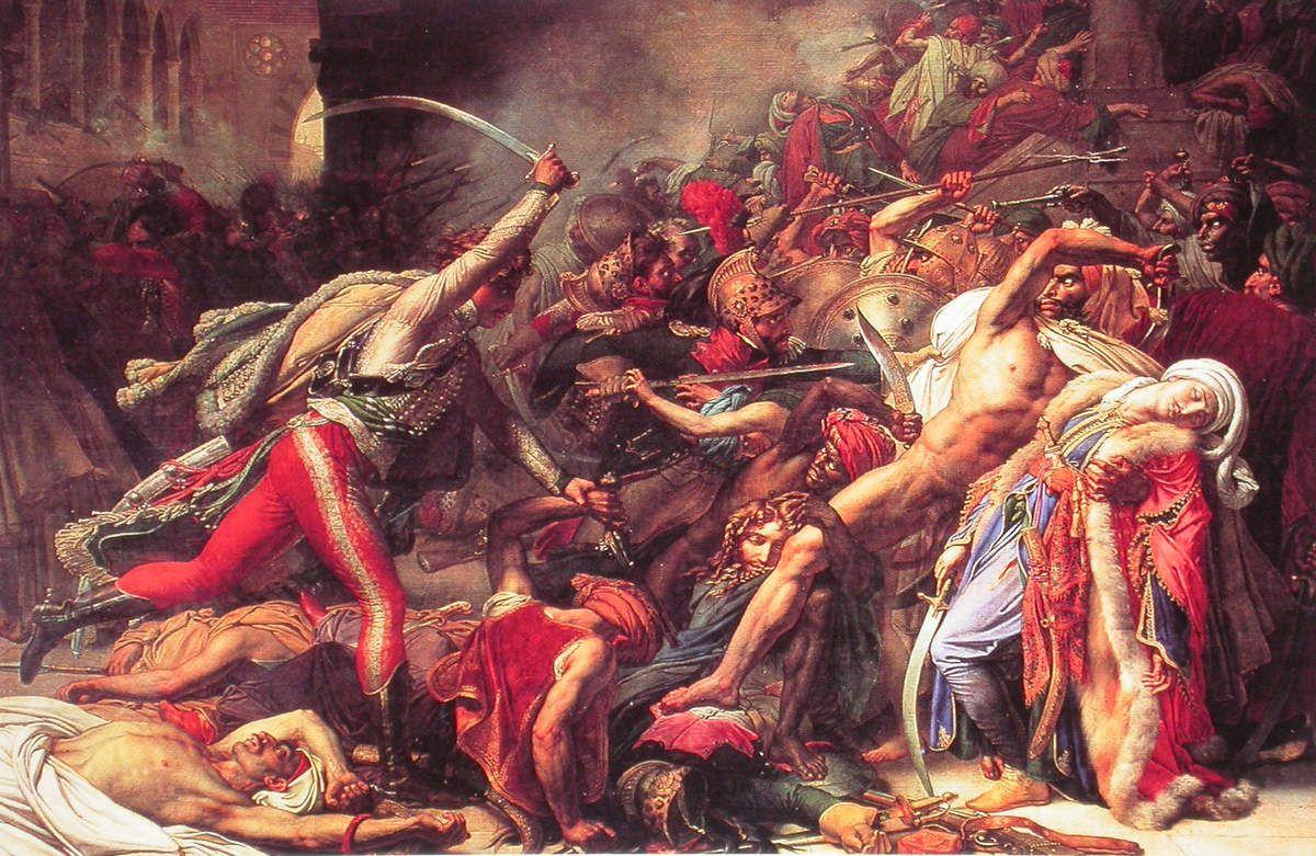 Girodet - Révolte du Caire (21 octobre 1798), 1810