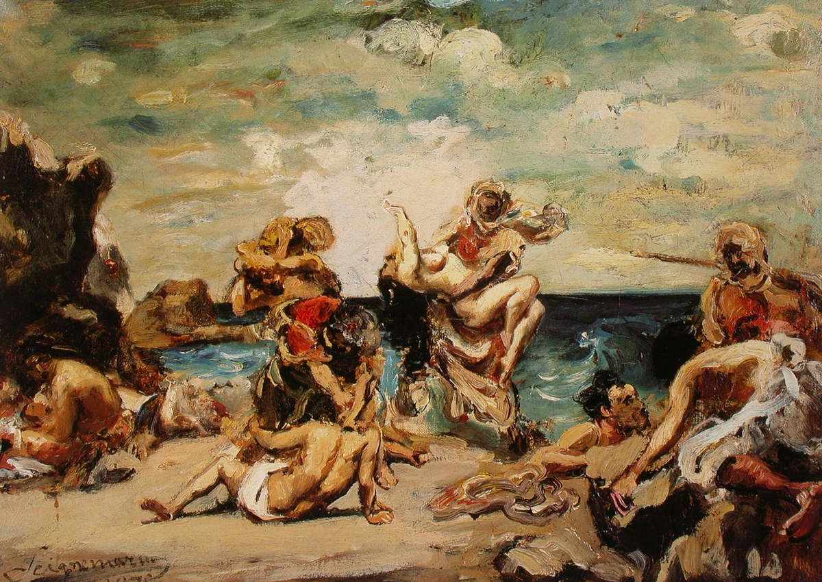Jean Seignemartin - Les Pirates, 1875