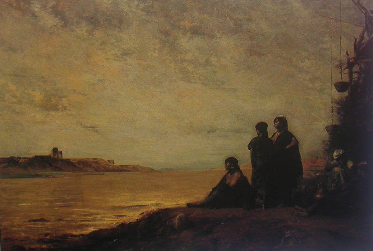 Eugène Fromentin- Le Nil (Haute Egypte), 1876