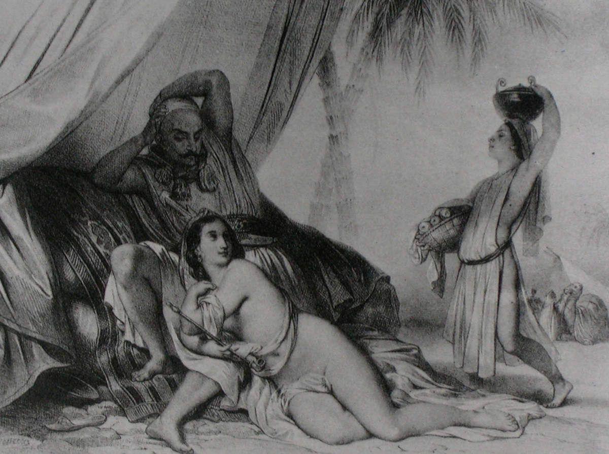 Achille Devéria - Les Arabes du désert, 1837