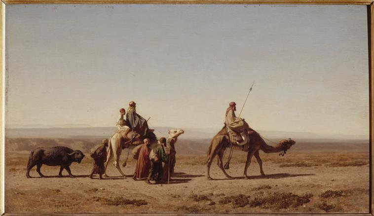Prosper Marilaht - Arabes Syriens en voyage, 1844