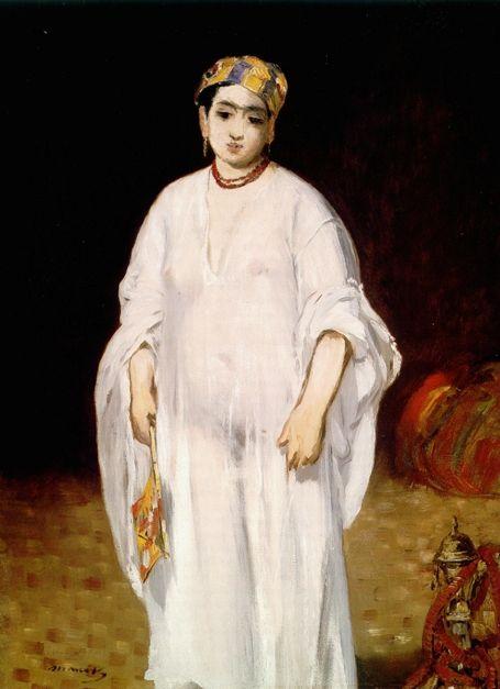 Edouard Manet - La Sultane, 1871