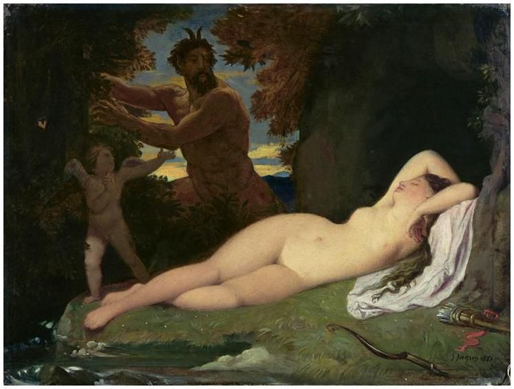 Ingres - Jupiter et Antiope, 1851