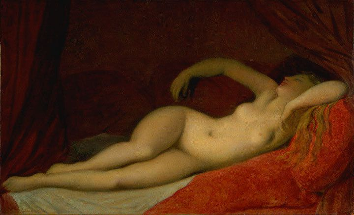 Ingres - La dormeuse de Naples, 1808