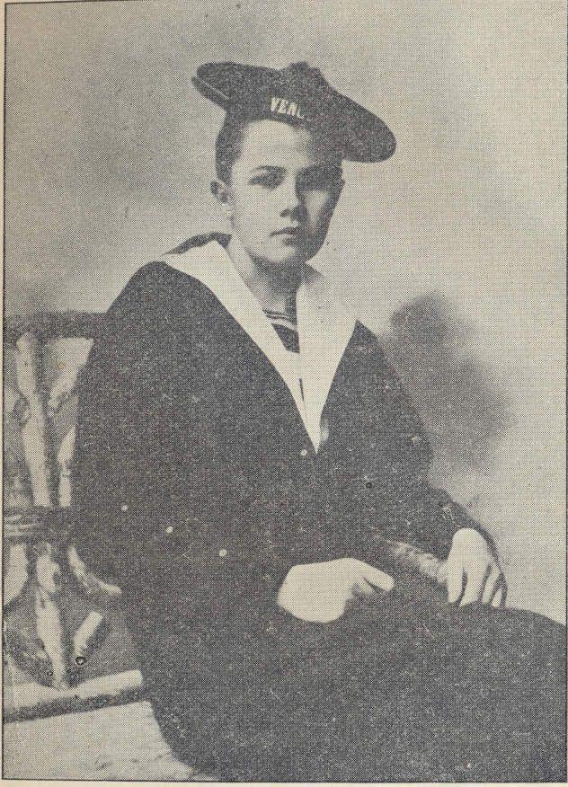 Isabelle à Bône en marin
