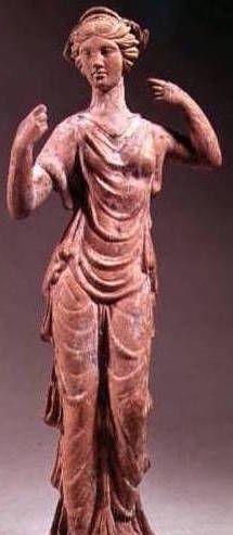 Aphrodite sculptée