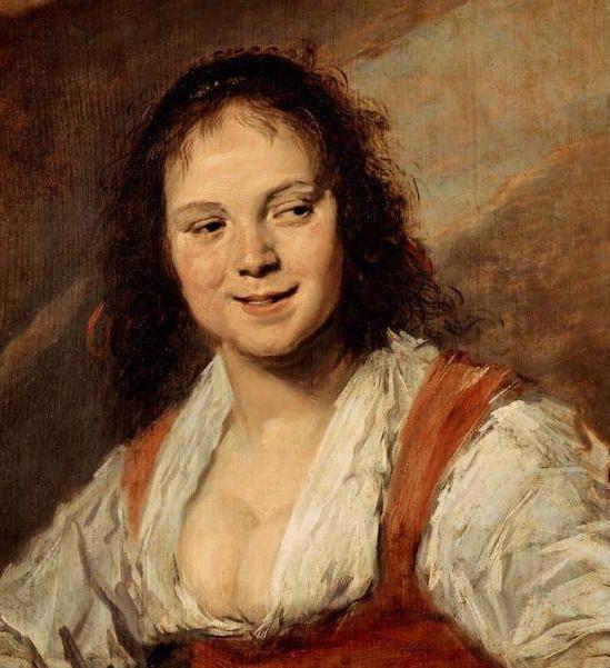 Frans Hals - La belle écaillère