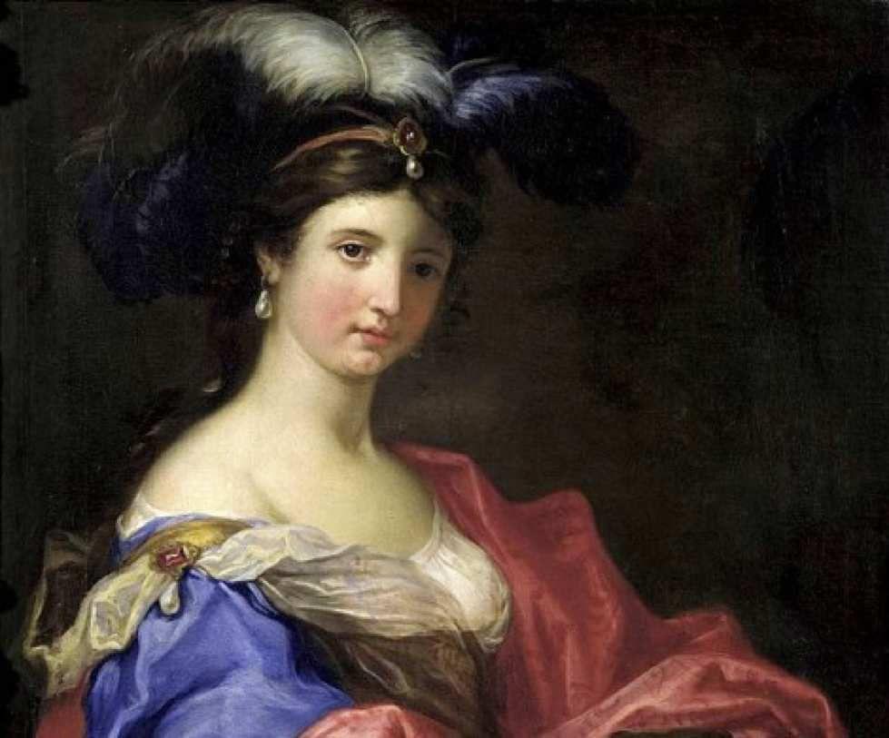 Dominico Piola (élève de Raphaël) - Portrait d'une femme